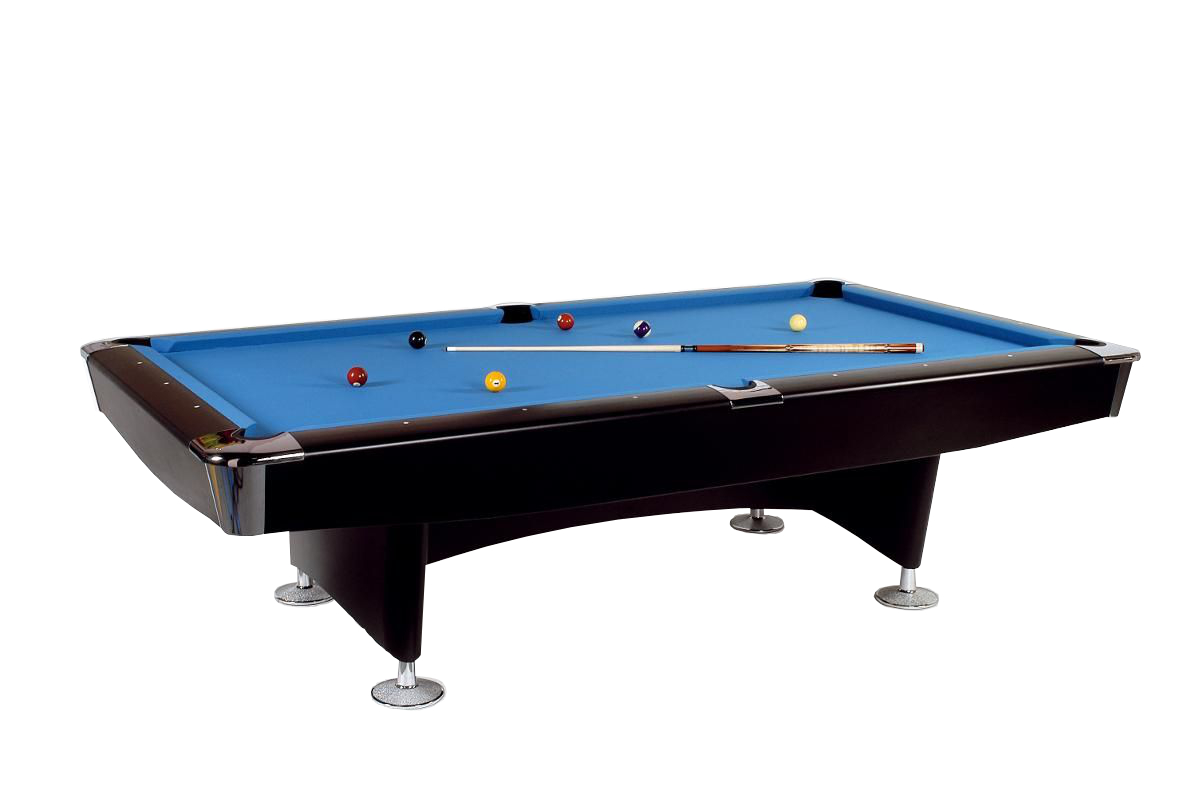 Table de billard club master 9 ft 254 x 127 cm grand avec assiette en ardoi - Taille table billard ...